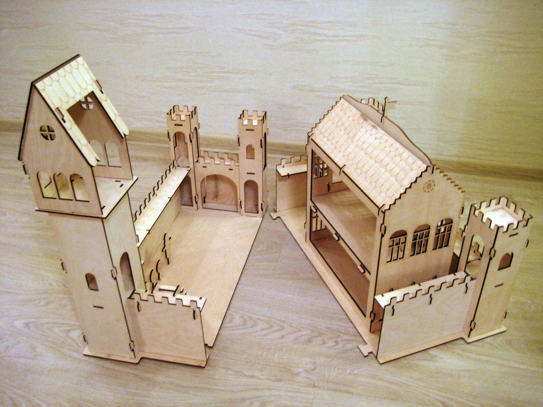 Замок игрушечный своими руками